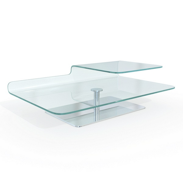 Wonderful Wellliked Curved Glass Coffee Tables Regarding Tempered Bent Glass Coffee Table 3d Model 3dsmaxmaya Files Free (Image 50 of 50)