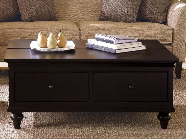 Wonderful Wellliked Dark Coffee Tables Pertaining To Best 25 Dark Wood Coffee Table Ideas On Pinterest Diy Coffee (Image 50 of 50)