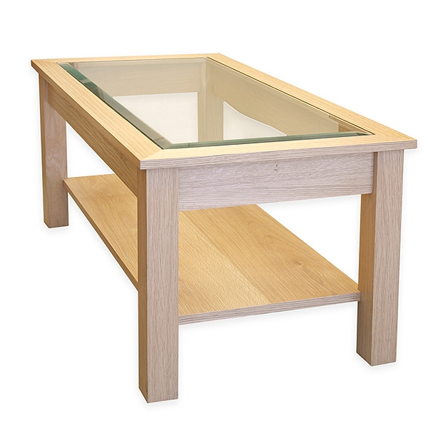 Wonderful Wellliked Oak And Glass Coffee Tables Inside Glass Top Coffee Tables (Image 50 of 50)