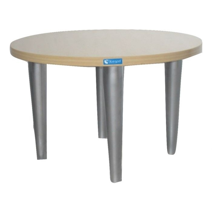 Wonderful Wellliked Round Beech Coffee Tables With Regard To Komac Reef Round Top Bottom 600mm Diameter Whitebeech Coffee Table (Image 50 of 50)