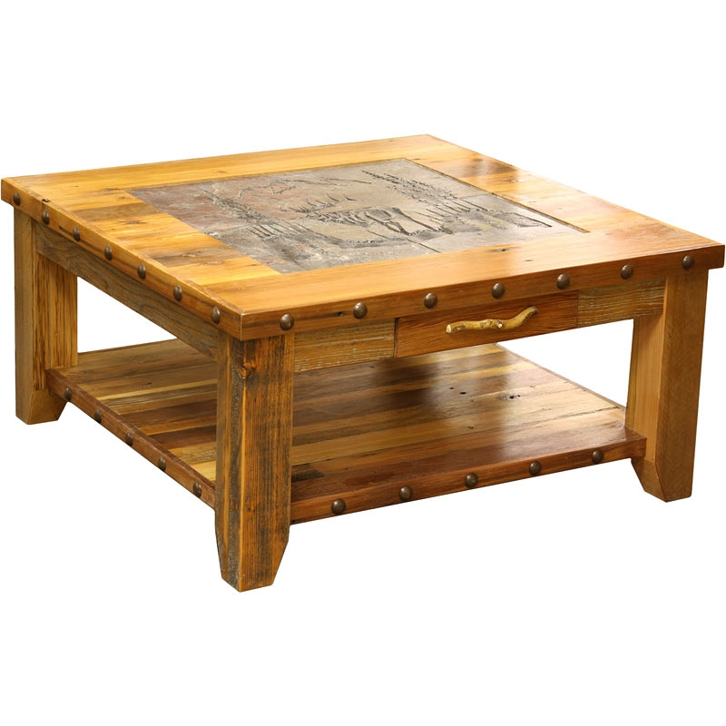 Wonderful Wellliked Rustic Barnwood Coffee Tables For Rustic Barnwood Coffee Table Modern Home Interiors Ideas For (View 38 of 50)