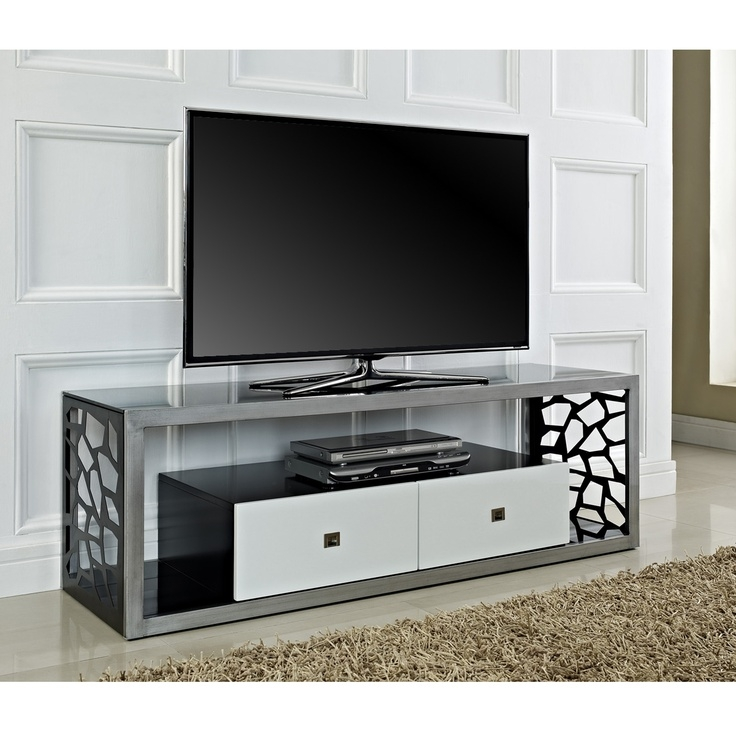 Wonderful Wellliked Silver TV Stands With Regard To 24 Best Tv Stands Images On Pinterest Wood Tv Stands (View 5 of 50)
