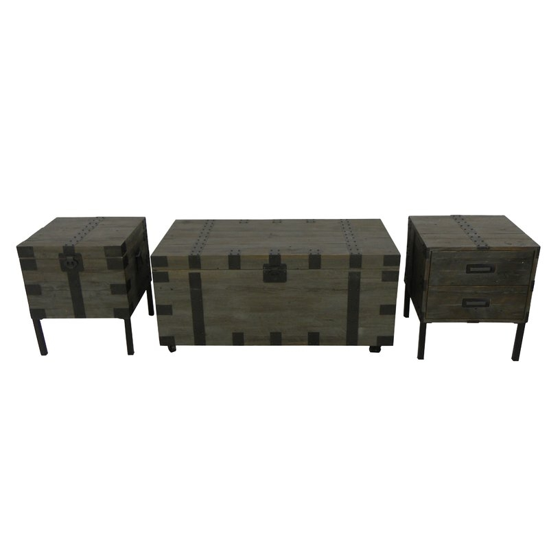 Wonderful Wellliked Wayfair Coffee Table Sets Pertaining To Shop 12 Trunk Coffee Table Sets Wayfair (Image 50 of 50)