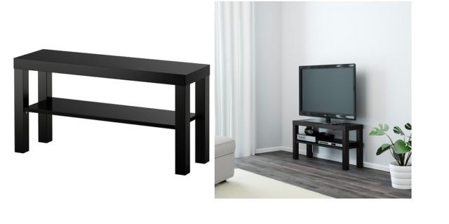 Wonderful Widely Used Black TV Stands Intended For Ikea 90243297 Lack Tv Stand Black 35 38 Inches 741414265820 Ebay (Image 50 of 50)