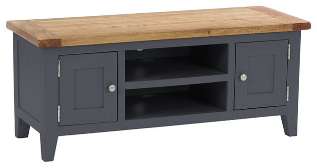 Wonderful Widely Used Country TV Stands Inside 2 Door Tv Unit Country Tv Stands Units Besp Oak Furniture (Image 49 of 50)