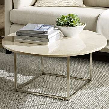 Wonderful Widely Used Glass And Stone Coffee Table Throughout Round Stone Coffee Table Cool Glass Coffee Table On Acrylic Coffee (Image 50 of 50)