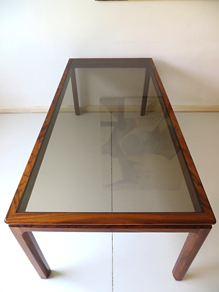 Wonderful Widely Used Long Coffee Tables For Long Danish Rosewood Coffee Table For Sale At Pamono (View 2 of 50)