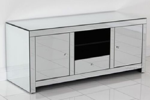 Wonderful Widely Used Mirrored TV Cabinets Furniture For Floating Crystal Collection Collection On Ebay (Image 50 of 50)