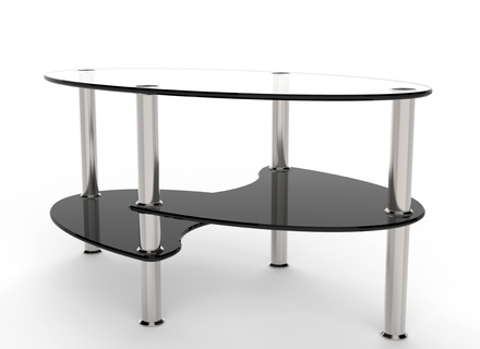 Wonderful Widely Used Oval Black Glass Coffee Tables In Oval Black Coffee Table Jerichomafjarproject (Image 50 of 50)