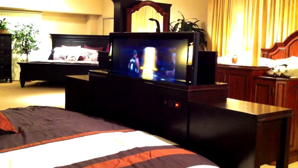Wonderful Widely Used Pop Up TV Stands With Regard To Pop Up Tv Stand Foot Bed Home Design Ideas (Image 50 of 50)