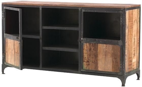 Wonderful Widely Used Rustic Looking TV Stands Throughout Manchester Tv Stand Get The Industrial Look With Wood Furniture (Image 50 of 50)
