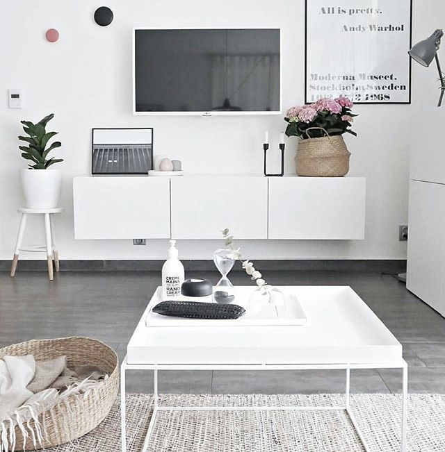 Wonderful Widely Used Scandinavian Design TV Cabinets With Best 25 White Tv Unit Ideas On Pinterest White Tv Ikea Tv And (View 16 of 50)