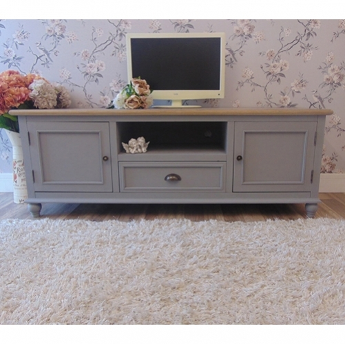 Wonderful Widely Used Shabby Chic TV Cabinets Inside Shab Chic Tv Cabinets And Stands For Easy Storage (View 2 of 50)