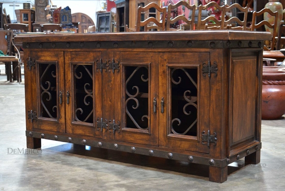 Wonderful Widely Used Sideboard TV Stands With Alamo Mesquite Tv Stand Demejico (View 40 of 50)