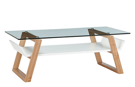 Wonderful Widely Used White And Oak Coffee Tables Regarding Coffee Table Glass Topped Coffee Tables Uk Airframe Coffee Table (Image 50 of 50)
