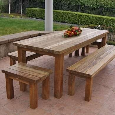 Wonderful Widely Used Wooden Garden Coffee Tables Regarding Best 25 Outdoor Wood Furniture Ideas On Pinterest Outdoor (Image 50 of 50)