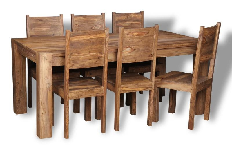 Featured Image of Sheesham Dining Tables And Chairs