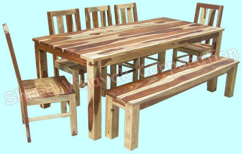 Wonderfull Design Sheesham Wood Dining Table Valuable Ideas With Regard To Sheesham Dining Tables And Chairs (Image 20 of 20)