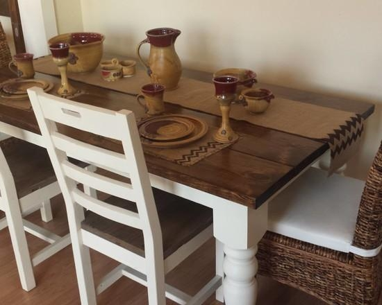 Wood Table White Legs | Kts S Regarding Dining Tables With White Legs (Image 20 of 20)