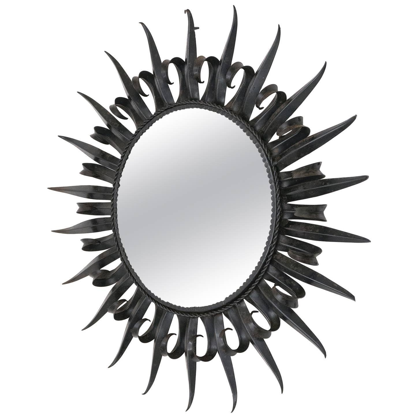 Wrought Iron Mirrors – 91 For Sale At 1Stdibs Within Black Wrought Iron Mirrors (Image 20 of 20)