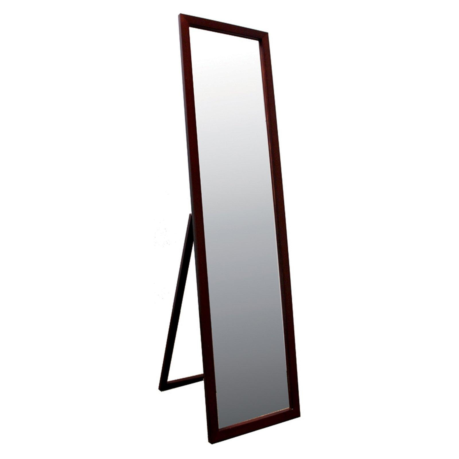 Wrought Iron Standing Mirror – Harpsounds (Image 13 of 20)
