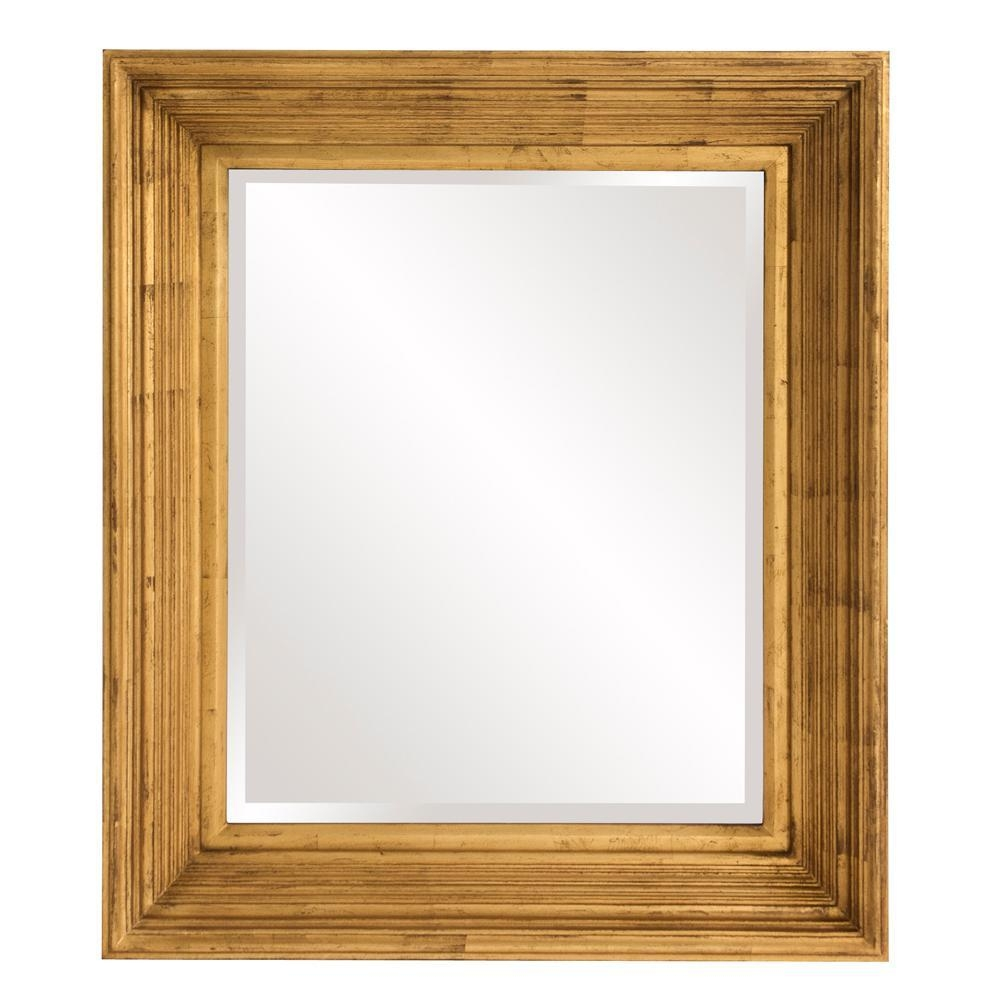 Zia Square Gold Mirror 53072 – The Home Depot Regarding Square Gold Mirror (Image 20 of 20)