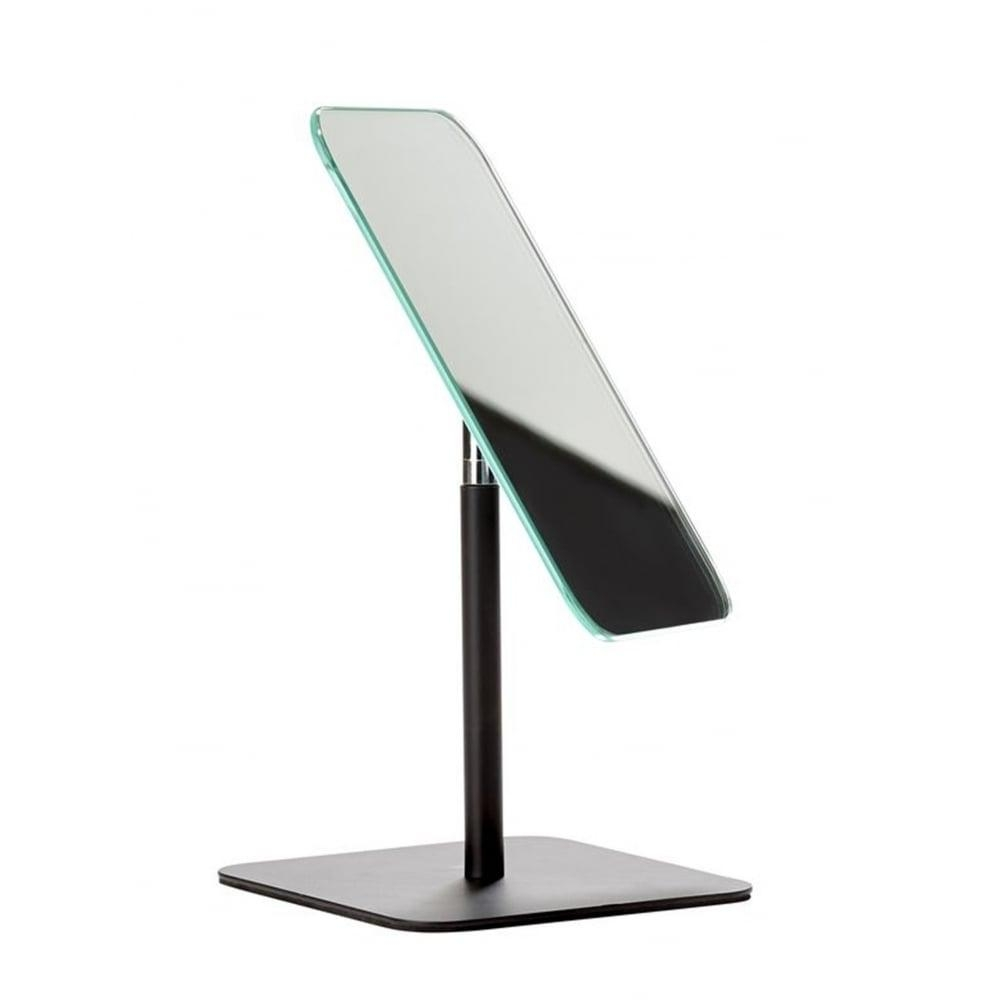 Zone Denmark Bathroom/dressing Table Mirror | Black | Blackdesign For Free Standing Table Mirror (Image 19 of 20)