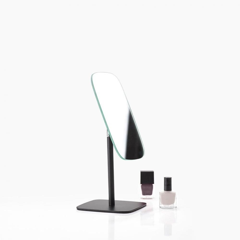 Zone Denmark Bathroom/dressing Table Mirror | Black | Blackdesign Throughout Free Standing Table Mirror (Image 20 of 20)