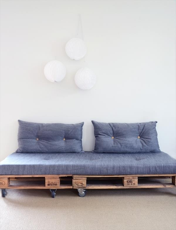 10 Beautiful Diy Sofa Designs | Newnist In Casters Sofas (Image 1 of 20)