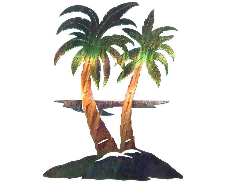 10 Best Beach Metal Art Images On Pinterest | Metal Walls, Coastal Intended For Palm Tree Metal Art (Image 2 of 20)