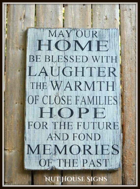 10 Best Hand Crafted Wood Signs Images On Pinterest | Rustic Wood Regarding Inspirational Wall Plaques (Image 1 of 20)