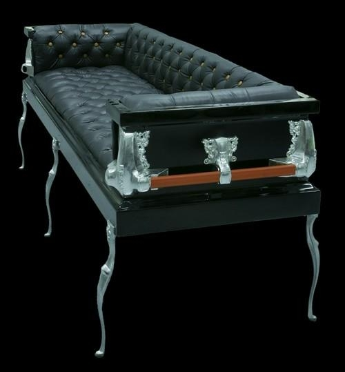 10 Coffin Furniture Ideas: Caskets Couches To Death Desks For Coffin Sofas (Image 2 of 20)