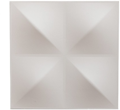 10 X Dunes 3D Wall Panels – White | Wall Art Pertaining To White 3D Wall Art (Image 1 of 20)