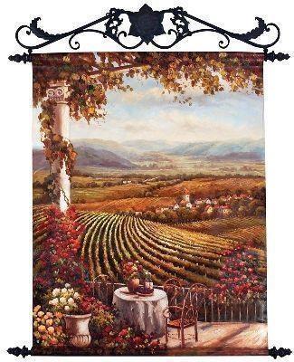 101 Best Vineyard Paintings Images On Pinterest | Vineyard Inside Vineyard Wall Art (View 14 of 20)