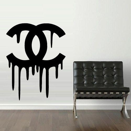 102 Best Crea Images On Pinterest | Chanel Decor, Chanel Room And With Coco Chanel Wall Decals (Image 2 of 20)