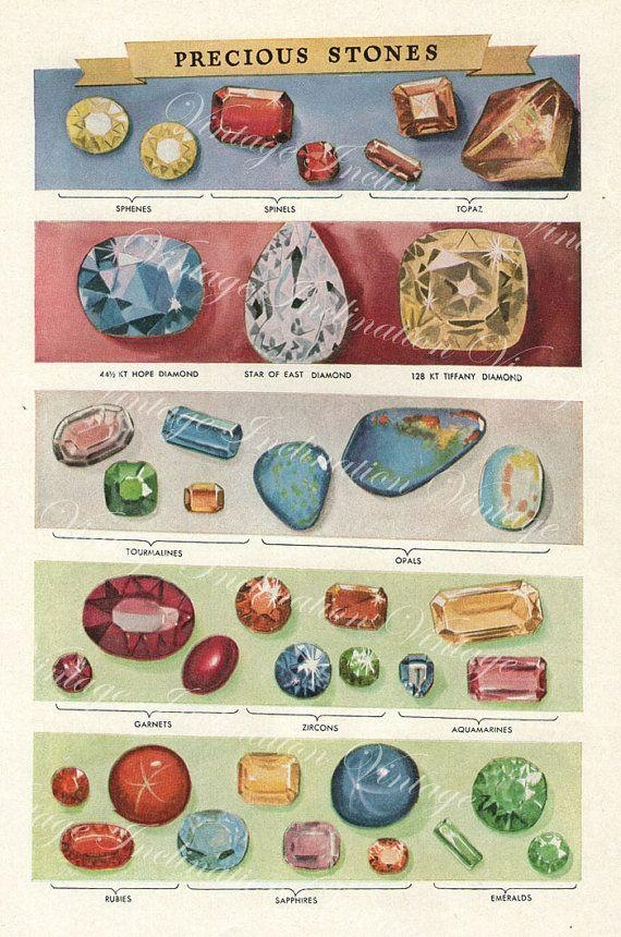 104 Best Gemstones Images On Pinterest | Geology, Jewellery Inside Gemstone Wall Art (Image 1 of 20)