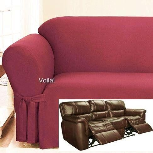 105 Best Slipcover 4 Recliner Couch Images On Pinterest In Recliner Sofa Slipcovers (View 2 of 20)