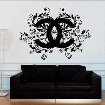 11 Best Logos Images On Pinterest | Chanel Decor, Coco Chanel And Pertaining To Coco Chanel Wall Decals (Image 3 of 20)