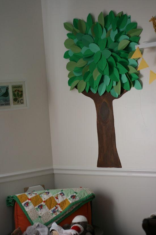 11 Best Tree Art Mini Images On Pinterest | 3D Tree, Tree Art And With Regard To 3D Tree Wall Art (Image 1 of 20)