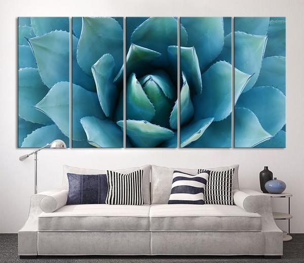 11 Best Wall Art Images On Pinterest | Canvas Prints, Canvas Walls With Teal Flower Canvas Wall Art (Image 2 of 20)