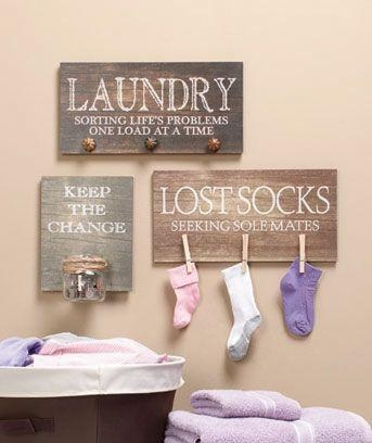 111 Best Laundry Rooms Images On Pinterest | Laundry, Room And The Pertaining To Laundry Room Wall Art (View 2 of 20)