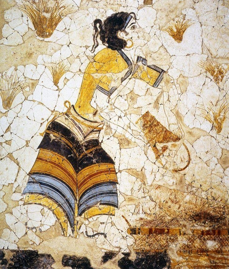 112 Best Ancient Greek Fresco Paintings Images On Pinterest Within Ancient Greek Wall Art (Image 1 of 20)