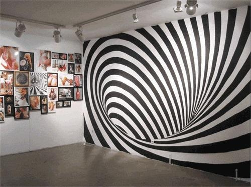 Featured Image of Optical Illusion Wall Art