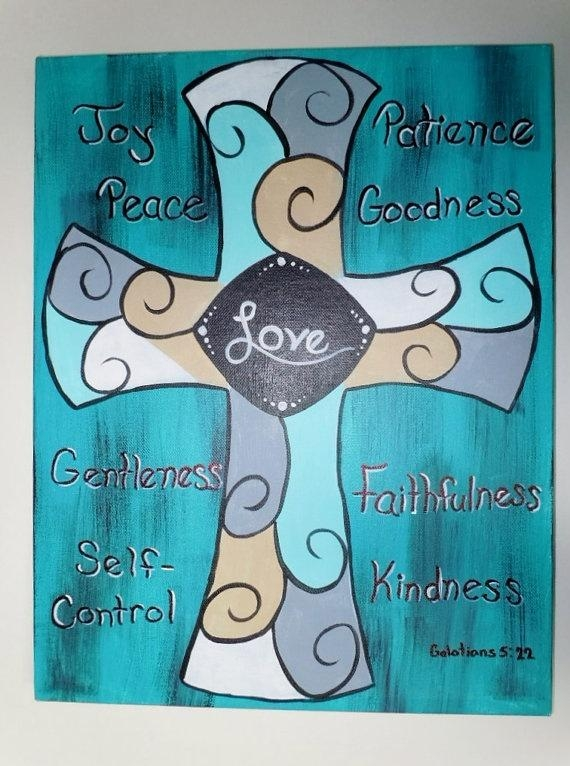 114 Best Fruit Of The Spirit Images On Pinterest | Fruit Of The In Fruit Of The Spirit Wall Art (Image 1 of 20)