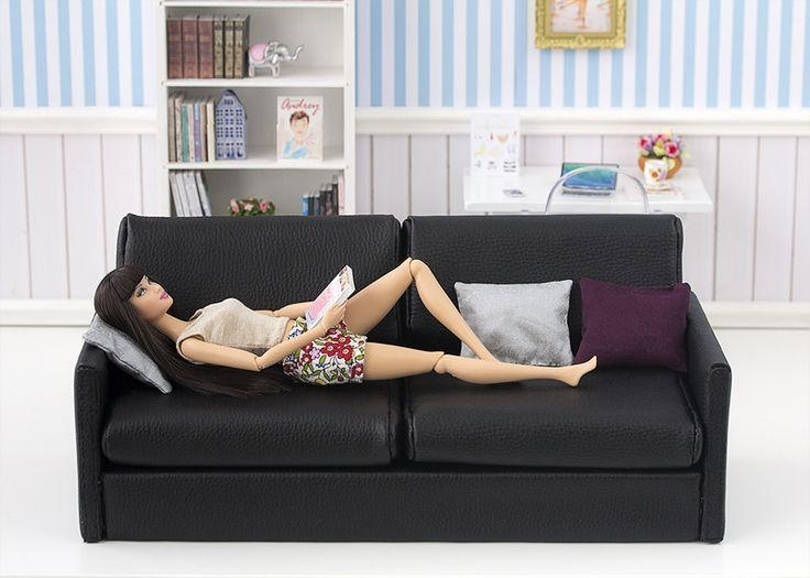 1154 Best Barbie Doll House & Furniture # 2 Images On Pinterest With Barbie Sofas (View 18 of 20)