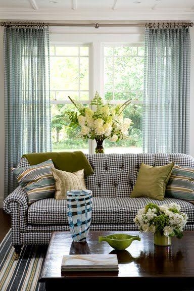 117 Best A Sofa For Me?! Images On Pinterest | Primitive Furniture Regarding Gingham Sofas (View 4 of 20)