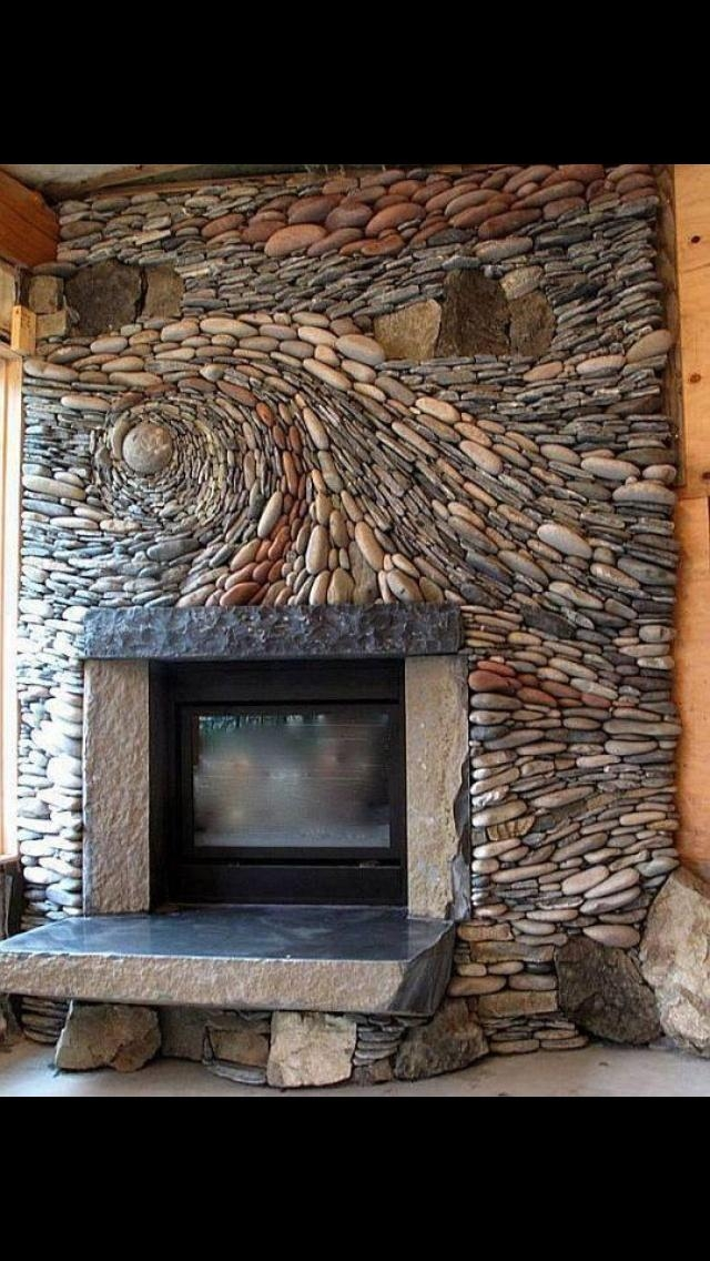 117 Best Fireplaces Images On Pinterest | Fireplaces, Art Deco Art With Regard To Fireplace Wall Art (Image 1 of 20)