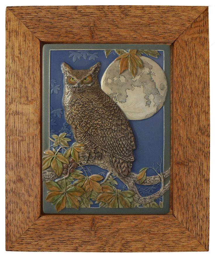 117 Best Wood And Art Images On Pinterest | Art Tiles, Ceramic Art Regarding Owl Framed Wall Art (Image 1 of 20)