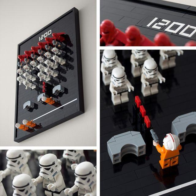 119 Best Star Wars Images On Pinterest | Starwars, Lego Star Wars Throughout Lego Star Wars Wall Art (Image 1 of 20)