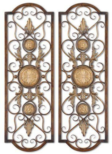 119 Best Wall Decor Images On Pinterest | Tuscan Decorating With Tuscan Wrought Iron Wall Art (Image 1 of 20)